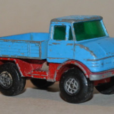 Macheta MATCHBOX Unimog - Macheta auto Matchbox, 1:60