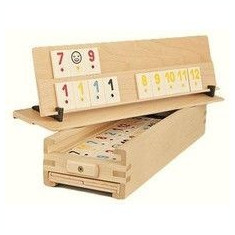 Joc Remi de Medias Original cu piese tip Piatra - Rummy Medias. SIGILAT! - Joc board game