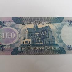GUYANA 100 DOLLARS-UNC