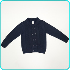 Jacheta / jerseu frumos, practic, bumbac, COCCODRILLO → baieti | 5-6 ani | 116, Marime: Alta, Culoare: Bleumarin