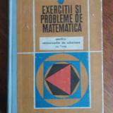 Exercitii si probleme de matematica - Gr. Gheba / R2S - Carte Matematica