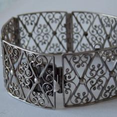 Bratara argint vintage -1917