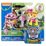 Jucarie Paw Patrol, Jungle Skye - Figurina Desene animate