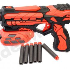 Pistol cu gloante din burete - soft bullet gun - Pistol de jucarie