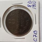 C713 GUERNSEY 8 DOUBLES 1910, Europa