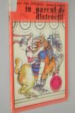 Carte veche de colorat - In parcul de distractii
