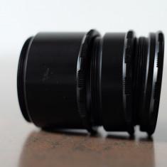 Tuburi de extensie m42 DSLR Canon Nikon Sony Fuji mirorrless Olympus 4/3 - Teleconvertor Obiectiv Foto