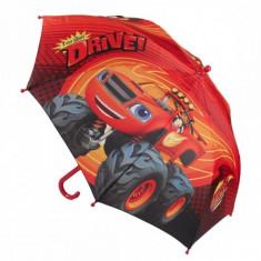 Umbrela manuala copii Blaze rosie - Umbrela Copii
