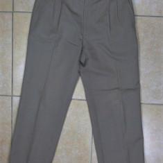 Pantaloni Yves Saint Laurent originali - Pantaloni barbati, Marime: M/L, Culoare: Gri, Marime: 34, Lungi, Lana