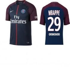 Tricou PSG MBAPPE, model 2017-2018 - Echipament fotbal, Marime: XL, L, M, Tricou fotbal