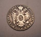 3 kreuzer 1815, Europa