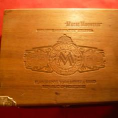 Cutie Trabucuri -Magic Mountain Maria Mancini Honduras, lemn, Dim.= 22x18x5 cm