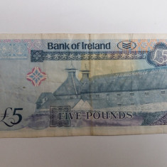 Irlanda 5 pounds 2013