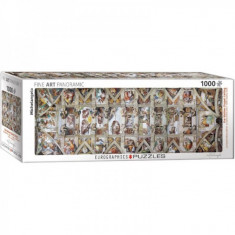 Puzzle 1000 piese The Sistine Chapel Ceiling-Michelangelo