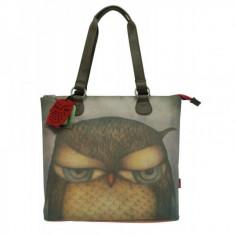 Geanta de umar Eclectic Grumpy Owl - Geanta Dama
