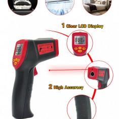Termometru pistol digital cu laser
