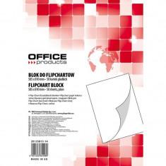 Hartie alba flipchart, 70 g/mp, 50 coli/top, Office