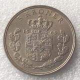 P2. Danemarca 5 kroner coroane 1968 **, Europa