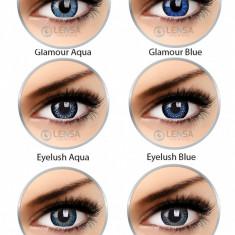 Lentile de contact colorate albastre ColourVue