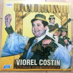Viorel costin si fratii florea cantece maramuresene disc vinyl muzica populara, VINIL