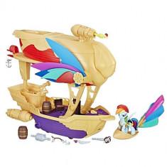 Set My Little Pony Corabia Aerului Swashbuckler - Figurina Povesti Hasbro