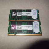 Memorie RAM laptop SODIMM DDR2 2GB 667mhz Kingston KTA-MB667/2G pt Apple MacBook