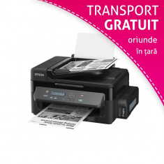 Multifunctionala Epson WorkForce M200 cu sistem CISS integrat