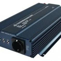 Invertor de tensiune HQ PURE SINE 1000 W 12 - 230 V SCHUKO, HQ-PURE1KW-24
