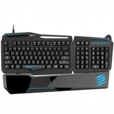 Tastatura Mad Catz S.T.R.I.K.E. TE TOURNAMENT EDITION (MATTE BLACK) USB, iluminata, mecanica