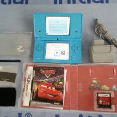 Nintendo DSi + joc CARS + folii display + incarcator original + stylus etc. - Consola Nintendo