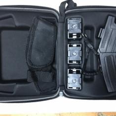 SUPER OFERTA Pistol Taser cu electrosoc +3 rezerve SI HUSA +2 REZERVE CADOU