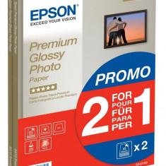 Hartie foto Epson format A4, 255g, Premium Glossy, top 30 coli