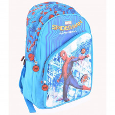 Ghiozdan Spiderman Blue, clase primare 1-4, impermeabil, Pigna