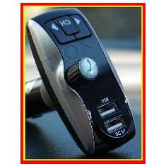 Modulator Fm Bluetooth Hands-free, Usb - Modulator FM auto