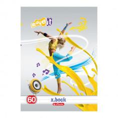 Caiet format A4 Herlitz 60 file model Move It