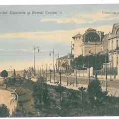 4062 - CONSTANTA - old postcard - used - 1914, Circulata, Printata
