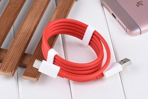 Original Cablu USB - Type-C Dash Charge OnePlus 2, 3, 3T, 5 Original foto mare