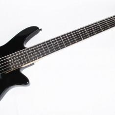 Chitara Bass Cherrystone 6 Corzi Negru Mat Nou