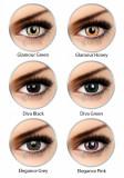 Lentile de contact colorate trimestriale -pentru 90 purtari