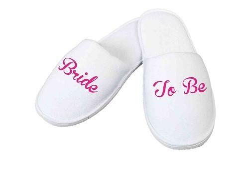 Papuci personalizati pentru Mireasa - Bride To Be EM1164