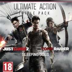 Ultimate Action Triple Pack Ps3 - Jocuri PS3 Square Enix