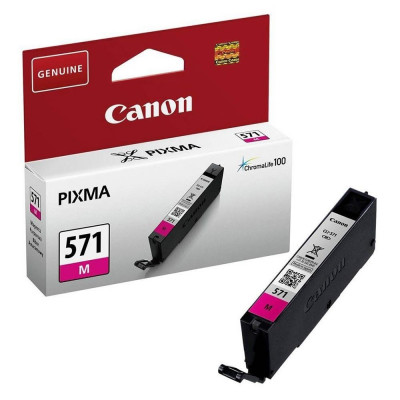 Cartus cerneala original Canon CLI-571M, 7ml, Magenta foto