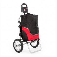 DURAMAXX CARRY Red, GEAMANTAN DE MANA SAU BICICLETĂ, MAX. Capacitate 20 KG, negru/rosu - Remorca bicicleta