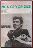 Zica ce vor zice - Afis Romaniafilm coproductie 1968, filme cinema Epoca de Aur