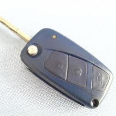 Cheie completa FIAT IVECO 55213590003 masina auto contact telecomanda 3 butoane - Carcasa cheie