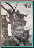 Fedos si fiii sai - Afis Romaniafilm film URSS 1983, afise cinema Epoca de Aur