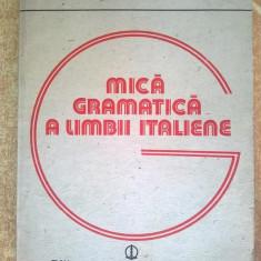 H. Gherman, R. Sarbu - Mica gramatica a limbii italiene - Carte in italiana