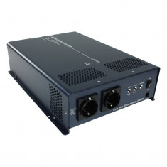 Invertor cu iesire sinusoidala pura, 2000 W, 24 - 230 V SCHUKO, HQ-PURE2KW-24 - Invertor curent