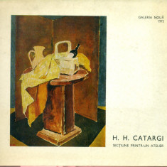 H.H.CATARGI - Sectiune printr-un atelier