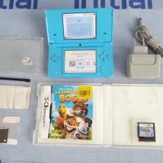 Nintendo DSi + discheta joc + folii display + incarcator original + stylus etc. - Consola Nintendo